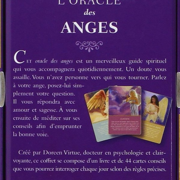 cartes de divination : oracles des anges