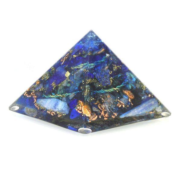 Orgonite bleue qualité